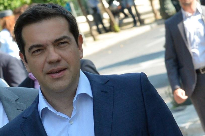 Premier Grecji Aleksis Cipras /ANDREAS SOLARO /East News