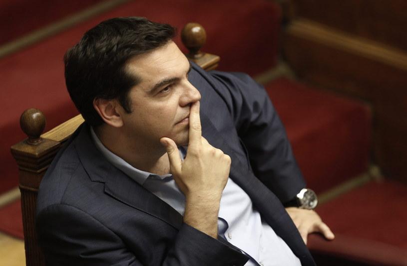 Premier Grecji Aleksis Cipras /PAP