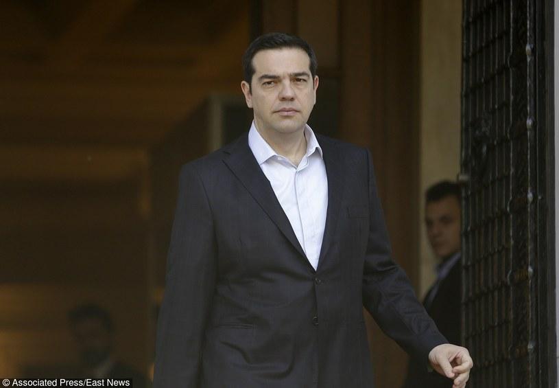Premier Grecji Aleksis Tsipras /AP