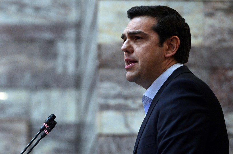 Premier Grecji Aleksis Tsipras /AFP