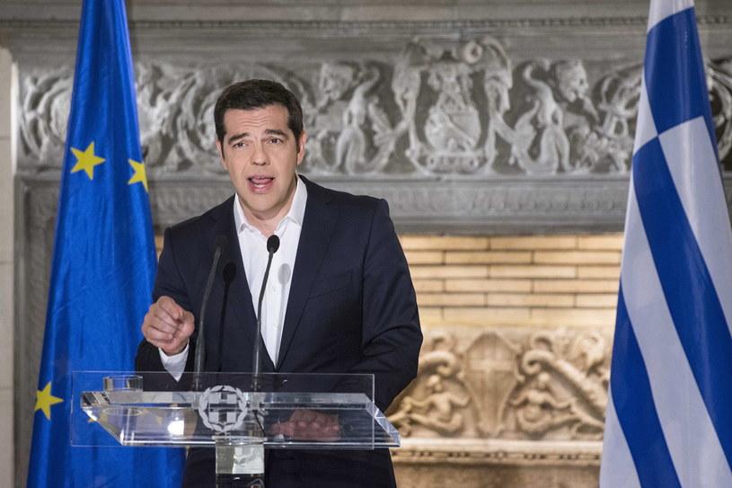 Premier Grecji wzywał Greków do głosowania w referendum przeciw przyjęciu warunków zagranicznej pomocy /EPA/ANDREA BONETTI /PAP/EPA