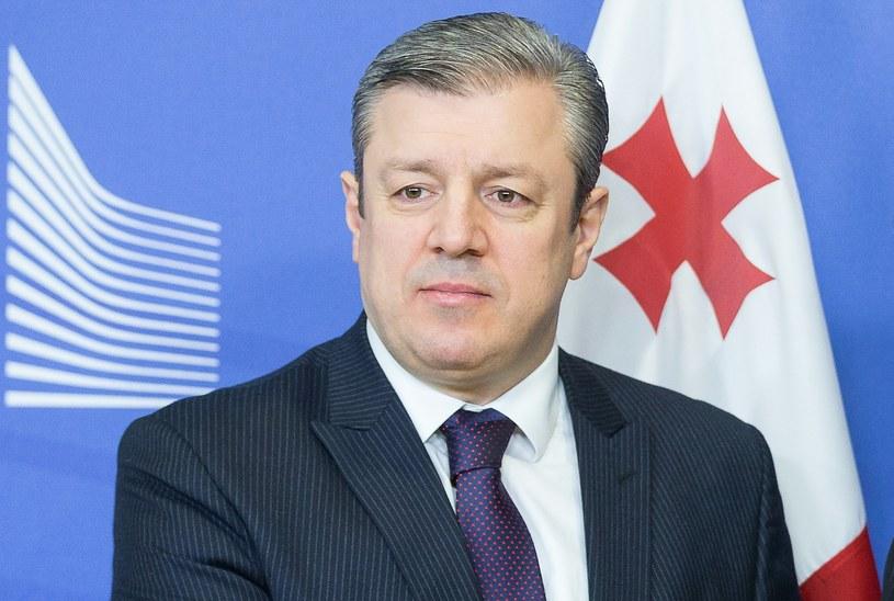 Premier Gruzji Giorgi Kwirikaszwili /AFP