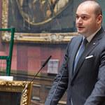 Premier Gruzji podał się dymisji. Decyzję ogłosił na Facebooku