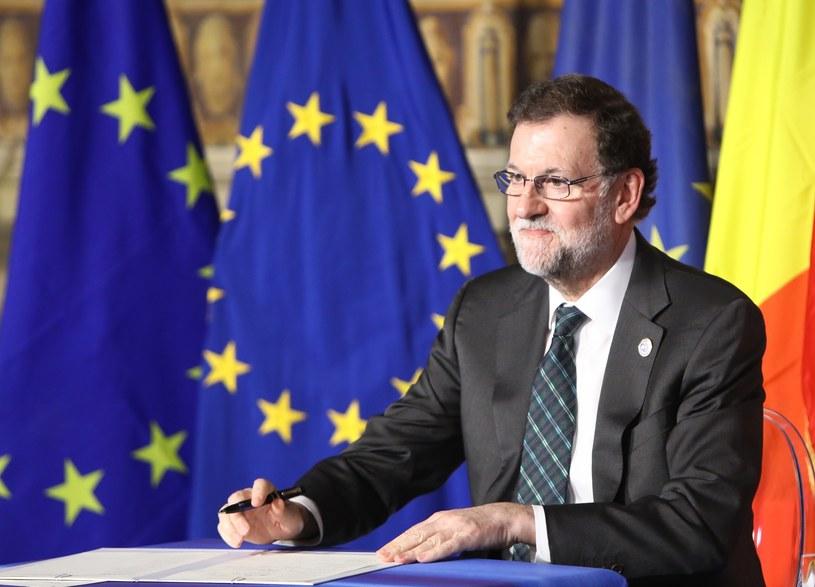Premier Hiszpanii Mariano Rajoy /STANISLAW KOWALCZUK /East News