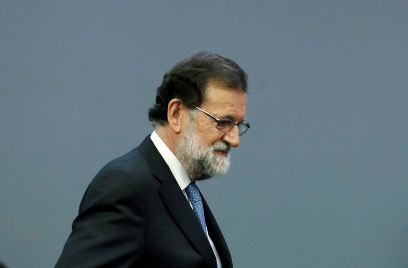 Premier Hiszpanii Mariano Rajoy /JUANJO MARTIN /PAP
