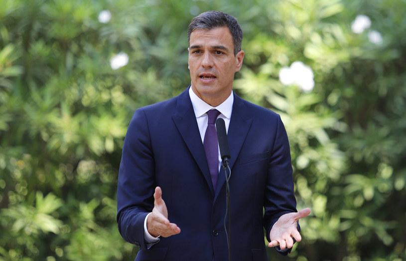 Premier Hiszpanii Pedro Sanchez. /123RF/PICSEL