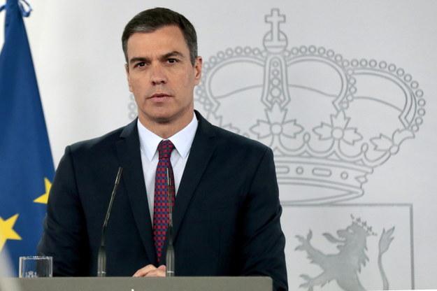 Premier Hiszpanii Pedro Sanchez / JOSE MARIA CUADRADO / HANDOUT /PAP/EPA