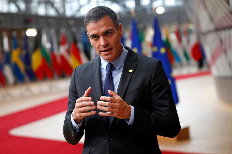 Premier Hiszpanii Pedro Sanchez /FRANCISCO SECO/AFP /East News