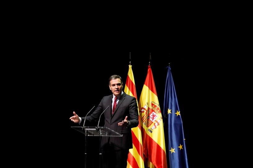 Premier Hiszpanii Perdro Sanchez /PAP/EPA/TONI ALBIR /PAP