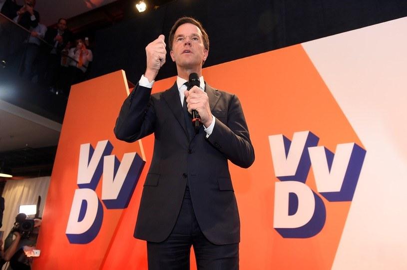 Premier Holandii Mark Rutte /PAP/EPA