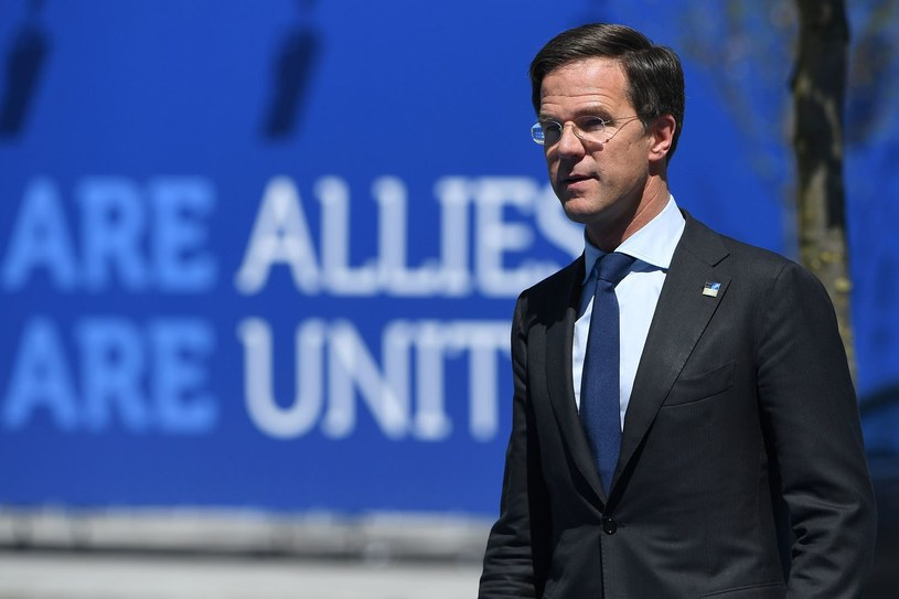 Premier Holandii Mark Rutte /EMMANUEL DUNAND /AFP