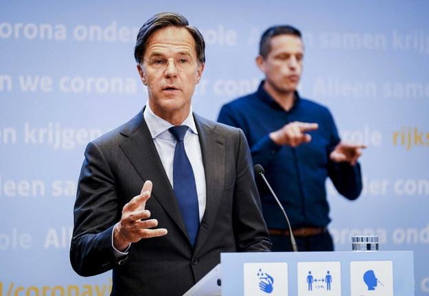 Premier Holandii Mark Rutte /HOLLANDSE HOOGTE/Phil Nijhuis /PAP/EPA