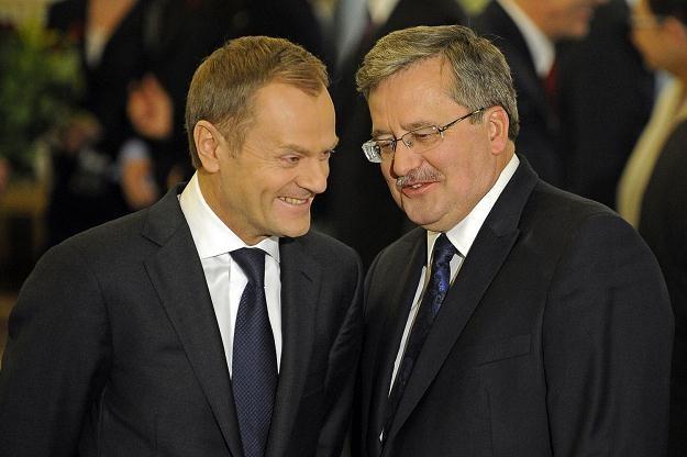 Premier i prezydent są z wykształcenia historykami /AFP
