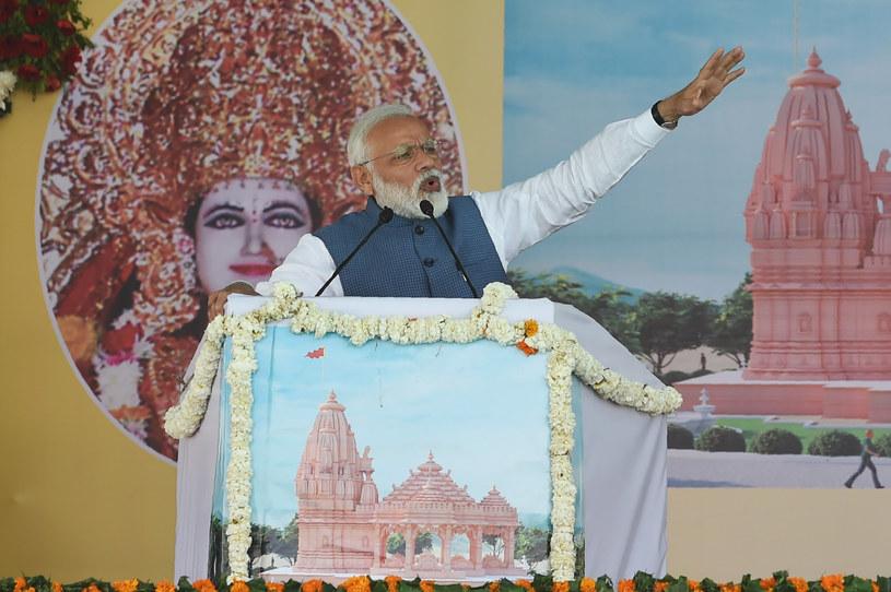 Premier Indii Narendra Modi /AFP