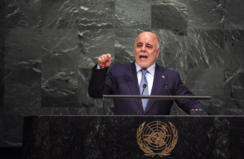 Premier Iraku Hajdar al-Abadi /AFP