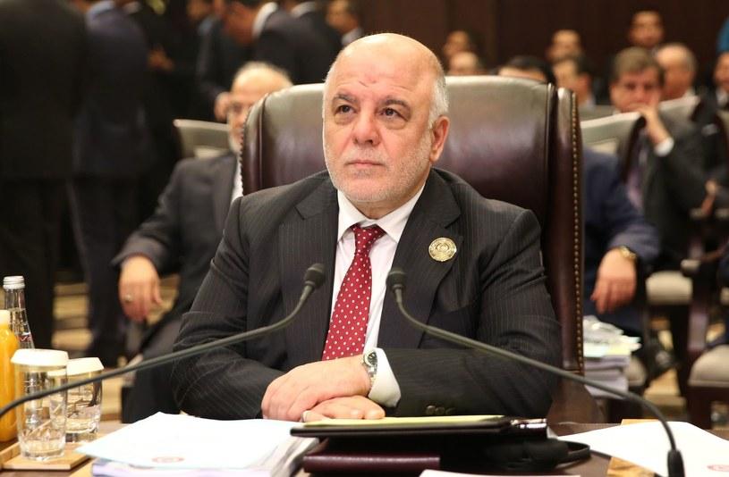 Premier Iraku Hajdar al-Abadi /KHALIL MAZRAAWI/ /AFP