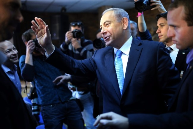 Premier Izraela Benjamin Netanjahu /DANIEL BAR ON /PAP/EPA