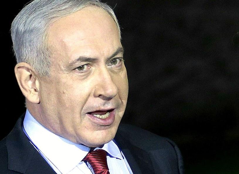 Premier Izraela Benjamin Netanjahu /AFP