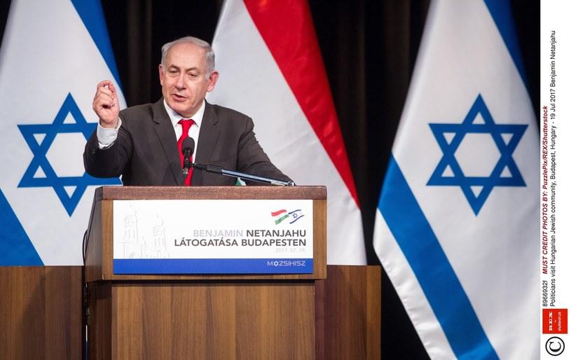 Premier Izraela Benjamin Netanjahu /PuzzlePix/REX/Shutterstock/EAST NEWS /East News