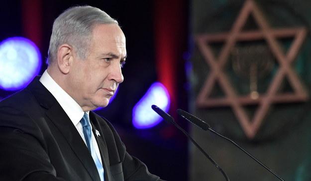 Premier Izraela Benjamin Netanjahu /ALEXEY NIKOLSKY / SPUTNIK / KREMLIN POOL /PAP/EPA