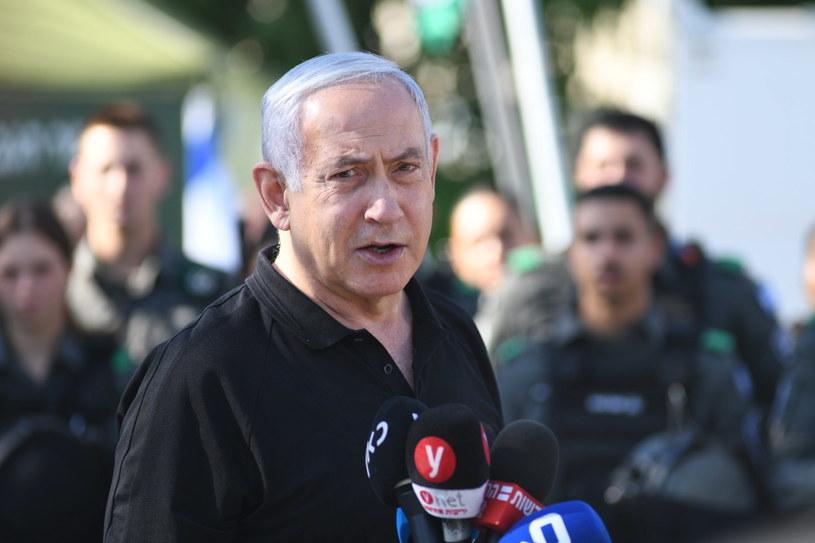 Premier Izraela Benjamin Netanjahu /YUVAL CHEN / POOL /PAP/EPA