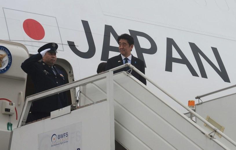 Premier Japonii Shinzo Abe /AFP