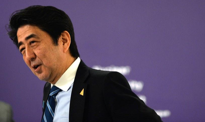 Premier Japonii Shinzo Abe. /AFP
