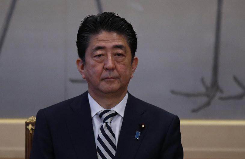 Premier Japonii Shinzo Abe /Toru Hanai /AFP