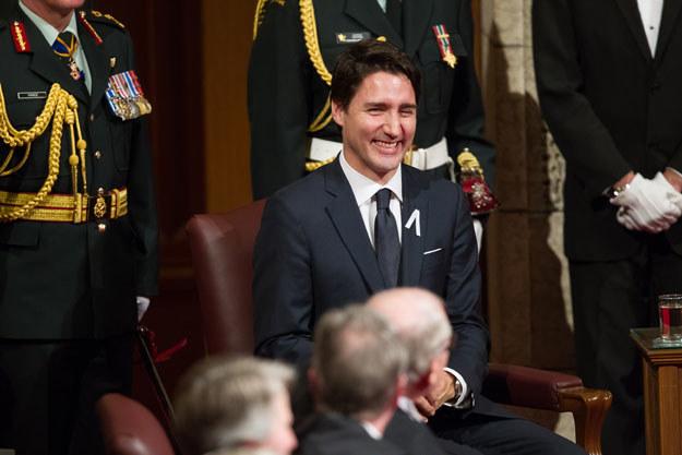 Premier Justin Trudeau podczas tegorocznej kampanii wyborczej zapowiadał legalizację marihuany /AFP