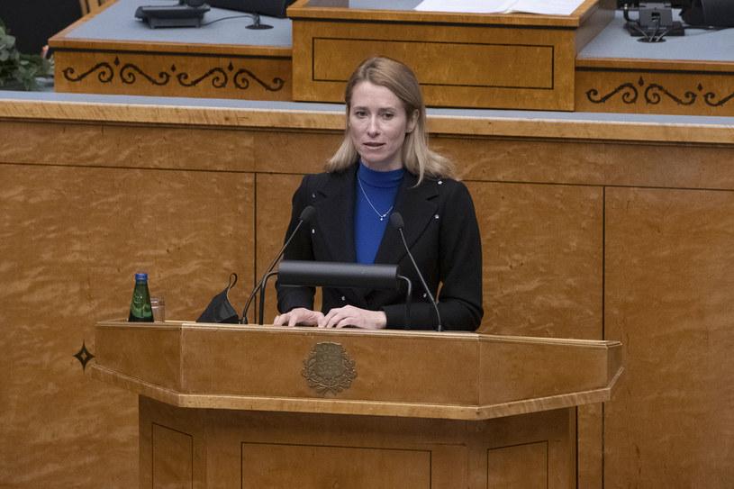 Premier Kaja Kallas poinformowała o wprowadzeniu ścisłej kwarantanny w Estonii /RAIGO PAJULA /AFP