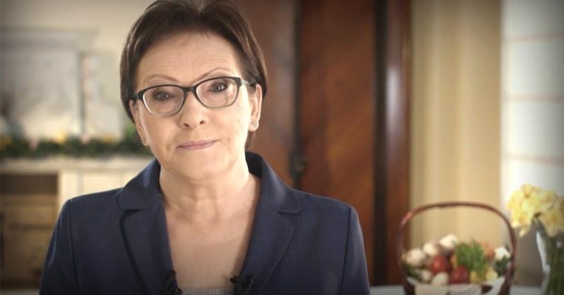 Premier Kopacz składa życzenia Polakom, fot. premier.gov.pl. /