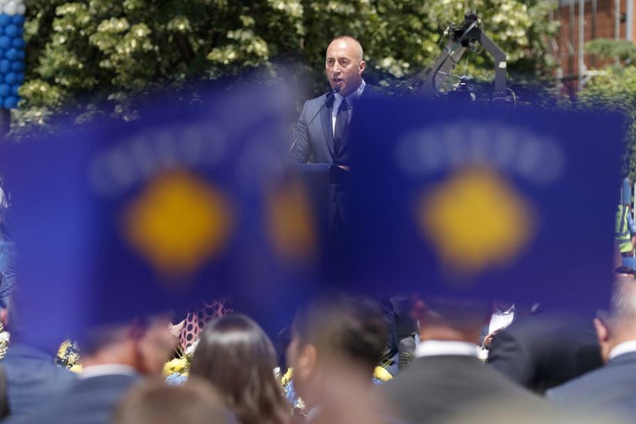 Premier Kosowa podał się do dymisji. Powodem wezwanie do sądu w Hadze /VALDRIN XHEMAJ    /PAP/EPA
