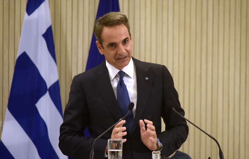 Premier Kyriakos Micotakis /IAKOVOS HATZISTAVROU /AFP