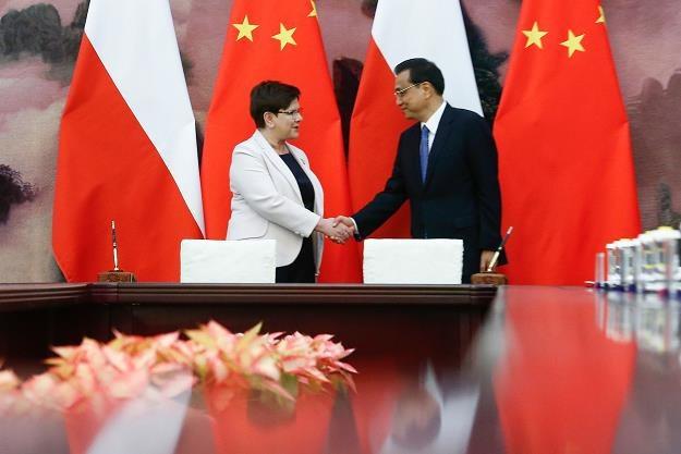 Premier Li Keqiang  i premier Beata Szydlo /AFP