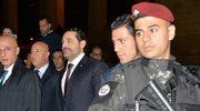 Premier Libanu wrócił do kraju. Czeka go trudna rozmowa z prezydentem