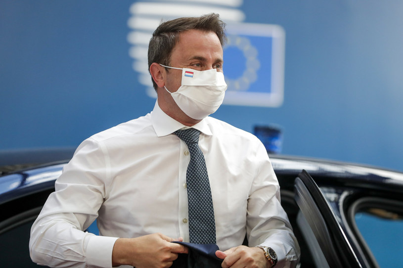 Premier Luksemburga Xavier Bettel /  STEPHANIE LECOCQ / POOL / AFP /AFP