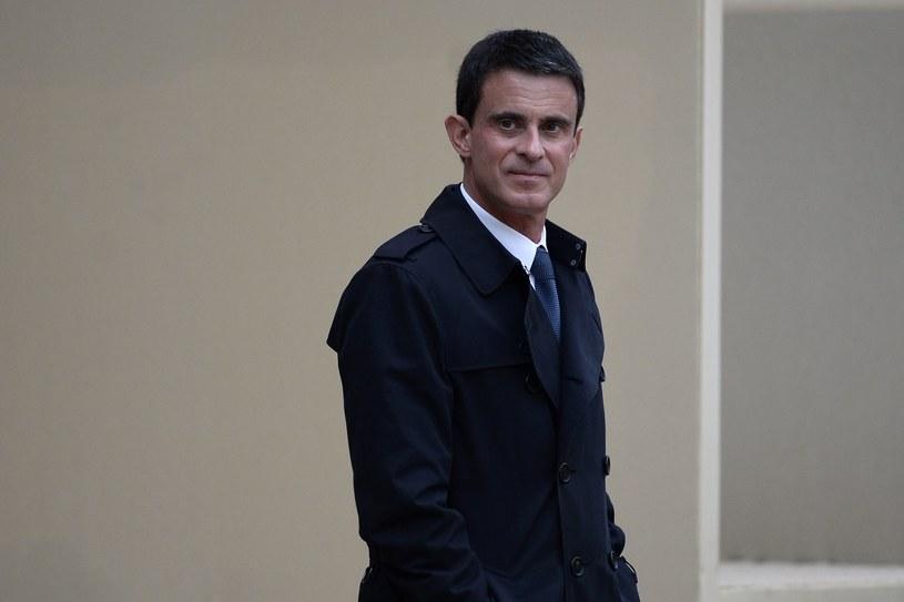 Premier Manuel Valls /AFP