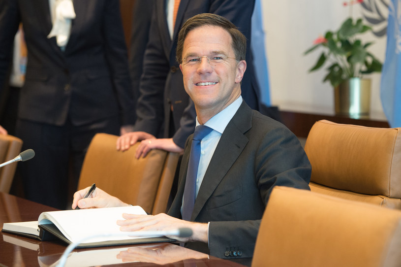 Premier Mark Rutte / BRYAN R. SMITH /AFP