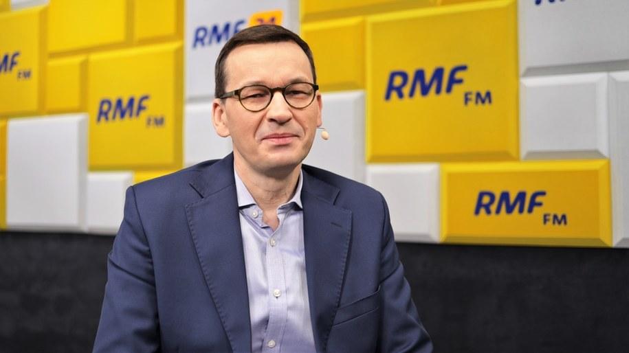 Premier Mateusz Morawiecki był Gościem Krzysztofa Ziemca w RMF FM /Michał Dukaczewski /RMF FM