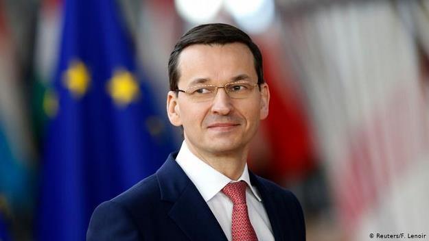 """Premier Mateusz Morawiecki chwali się na łamach """"FAZ"""" sukcesami w walce z mafią VAT /Deutsche Welle"""