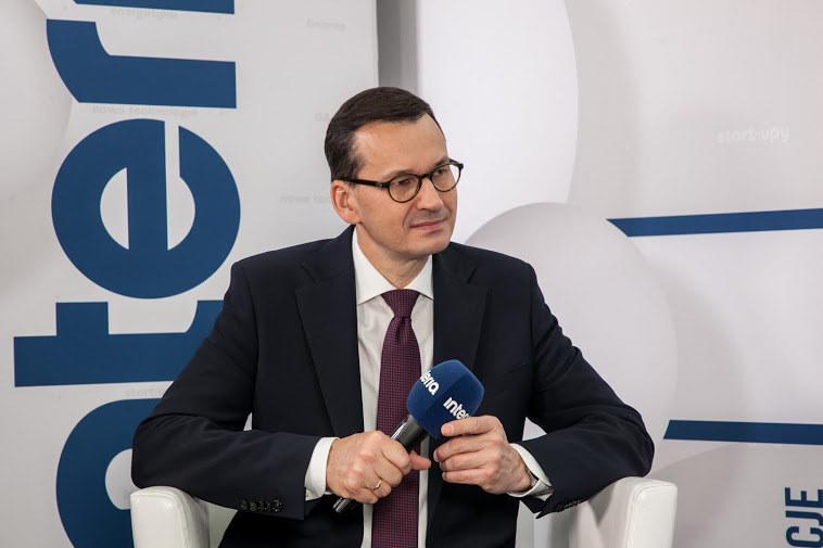 Premier Mateusz Morawiecki, fot. Ireneusz Rek /INTERIA.PL