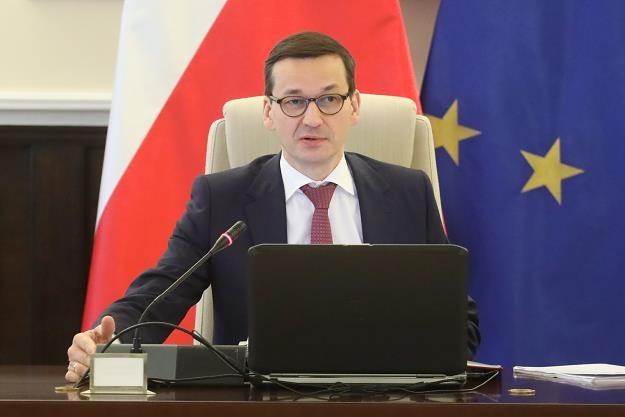 Premier Mateusz Morawiecki. Fot. Paweł Supernak /PAP