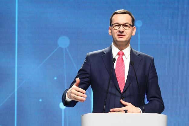 Premier Mateusz Morawiecki /fot. Tomasz Jastrzębowski /Reporter