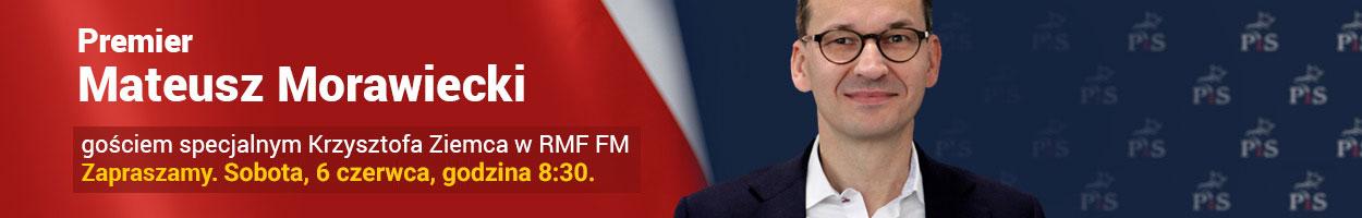 Premier Mateusz Morawiecki gościem Krzysztofa Ziemca