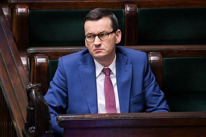 Premier Mateusz Morawiecki /Jacek Dominski/ /Reporter /Reporter