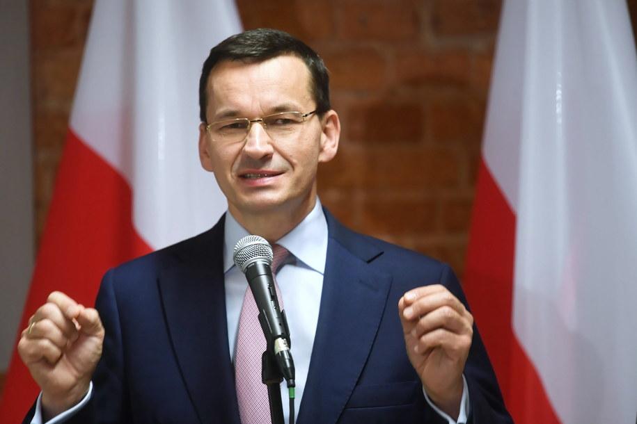 Premier Mateusz Morawiecki musi sprostować swoją wypowiedź nt. walki ze smogiem w Krakowie /Tytus Żmijewski /PAP