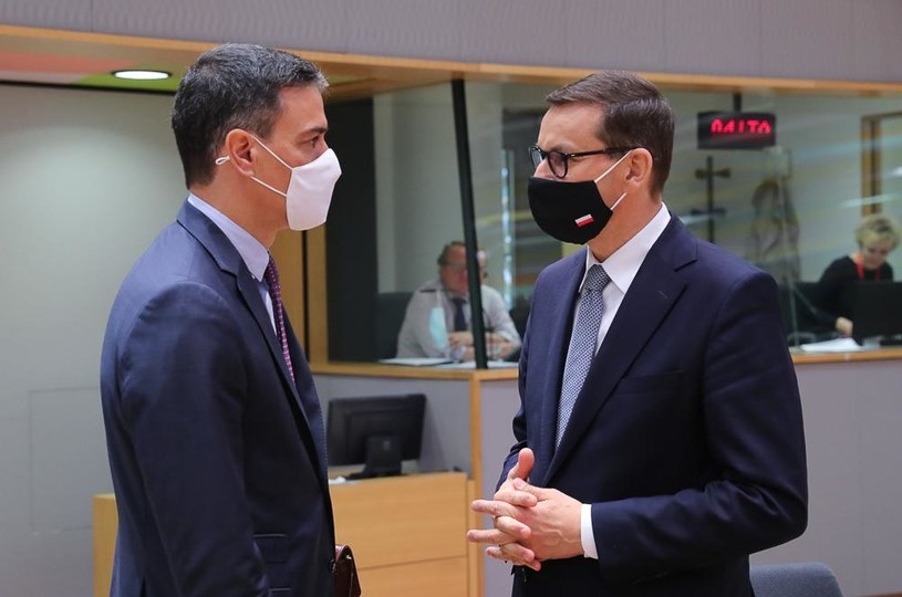 Premier Mateusz Morawiecki na szczycie UE poruszył m.in. temat cyberataków /KPRM /materiały prasowe