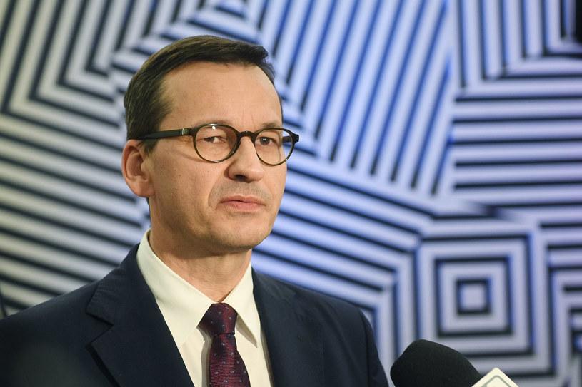 Premier Mateusz Morawiecki odbył serię spotkań po zakończeniu drugiego dnia szczytu UE / Radek Pietruszka   /PAP
