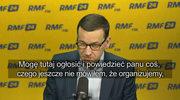 """Premier Mateusz Morawiecki: Organizujemy """"okrągły stół"""" w sprawie bezpieczeństwa na polskich stadionach"""