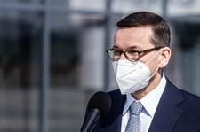 Premier Mateusz Morawiecki po rozmowie z Ursulą von der Leyen w sprawie szczepionek